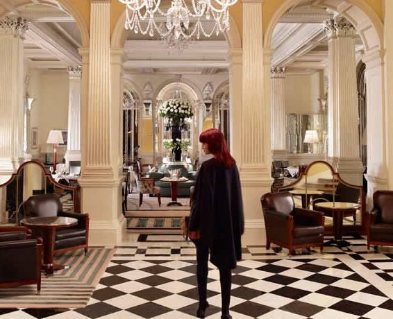 Lobby Claridge's hotel Londres
